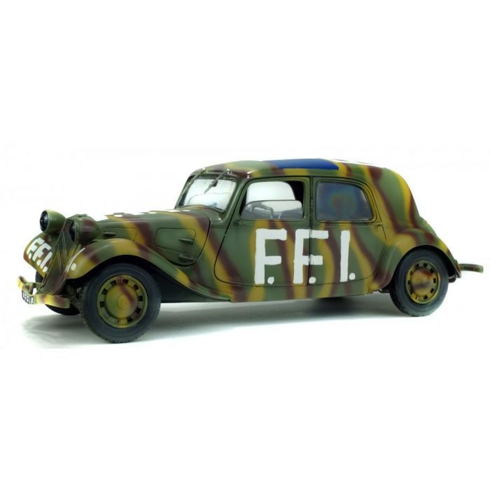 Solido - Car Citroen Traction FFI (French Forces of the Interior) 1944  - 1940-1949