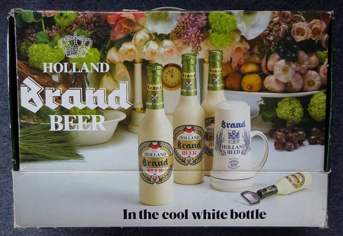 Brand Holland Beer - package for the USA - 3 bottles