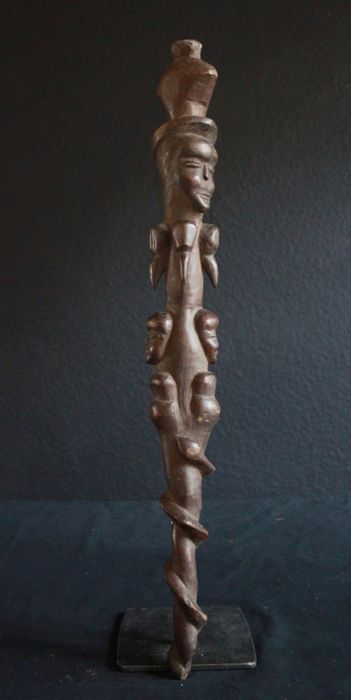 Staff of the Kirdi from Cameroon, Africa (1) - Wood - Africa