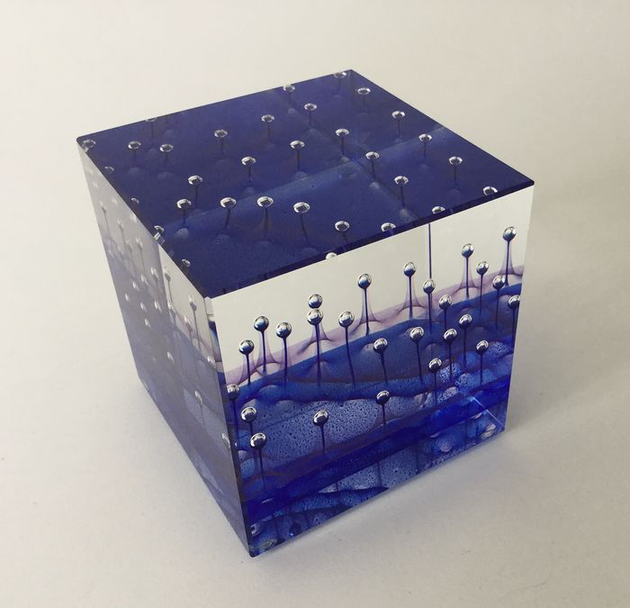 Jan Stohanzl - eigen atelier - Unique CUBE - optical glass