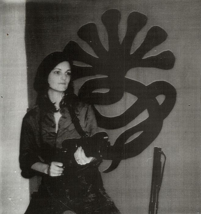 Unknown/Associated Press - Patty Hearst w/Symbionese Liberation Army Flag, 1974
