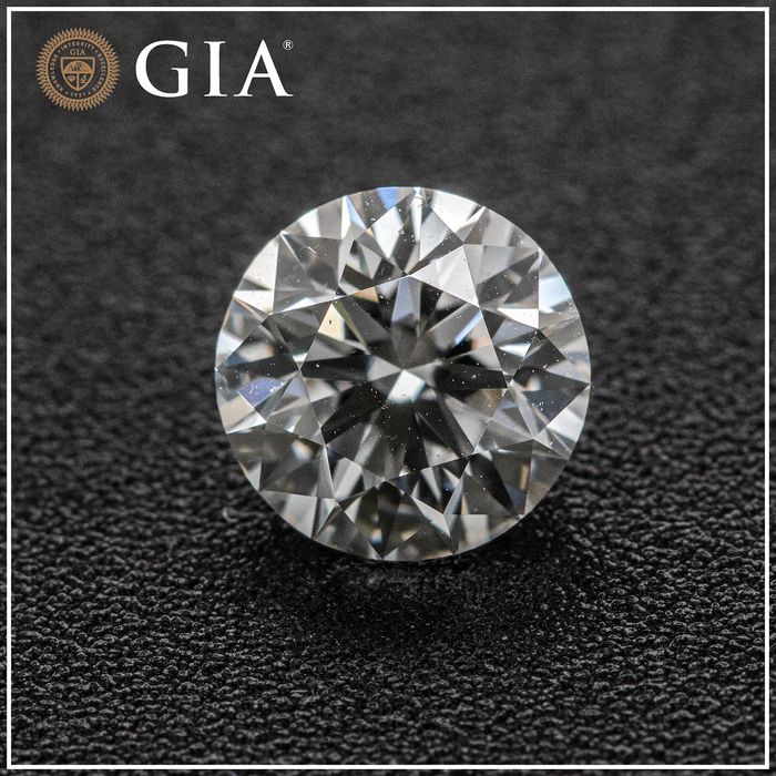 Diamante - 1.12 ct - Brilhante - E - VVS2, GIA
