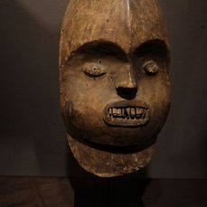 Mask - Wood - Provenance Donald Taitt - Bamileke - Cameroon