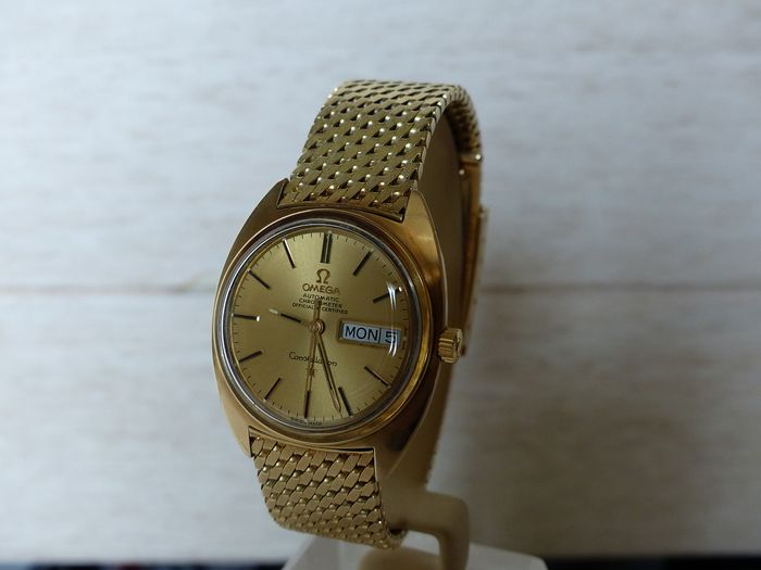 Omega - Constellation 14k - BD 168.009 / 017 - Men - 1968