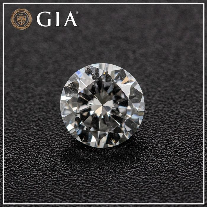 Diamond - 1.51 ct - Brilliant - D (colourless) - VS2, GIA