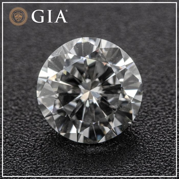 Diamant - 2.17 ct - Briljant - F - VS1, GIA
