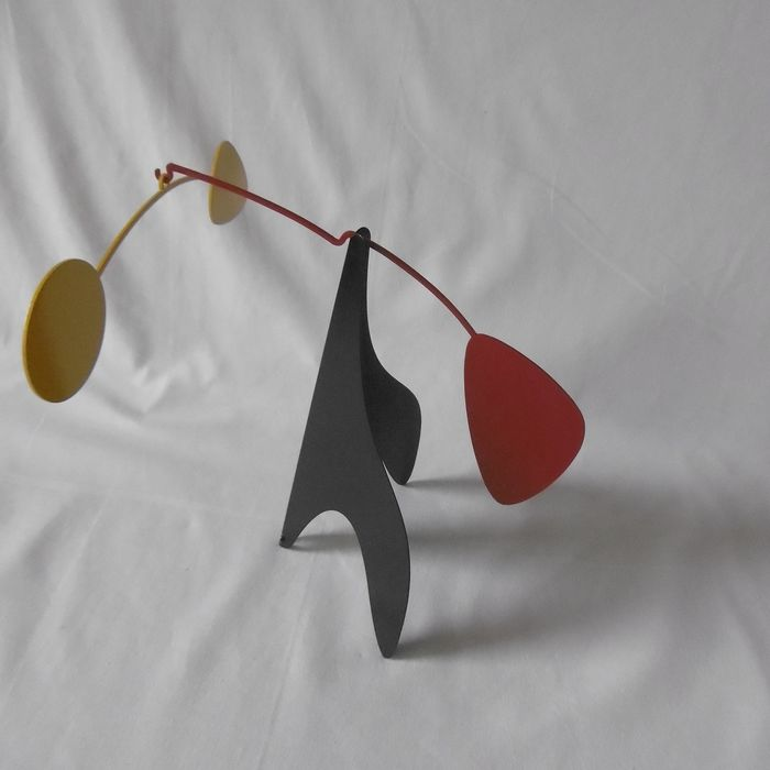 Stabilities / mobiles in Calder's style