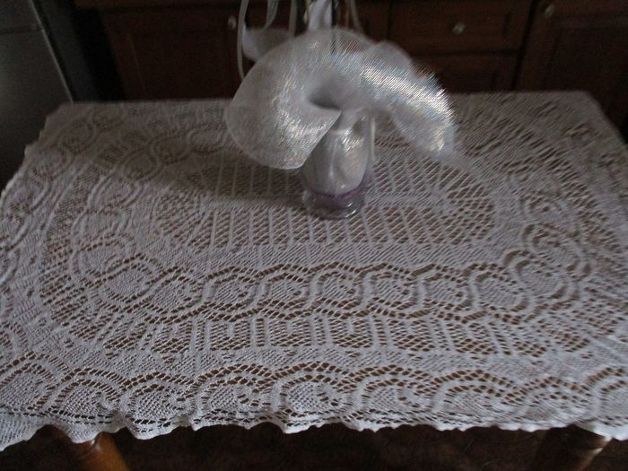 Tablecloth (1) - Ancient wire - 1800