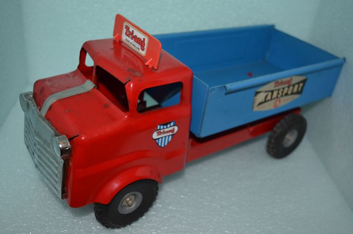 Tri-Ang Scalectrix Meccano - Junior - 1958 - Engeland - Tip Lorry Dump Truck Truck - pressed steel Tip Lorry Dump Truck - 1960-1969
