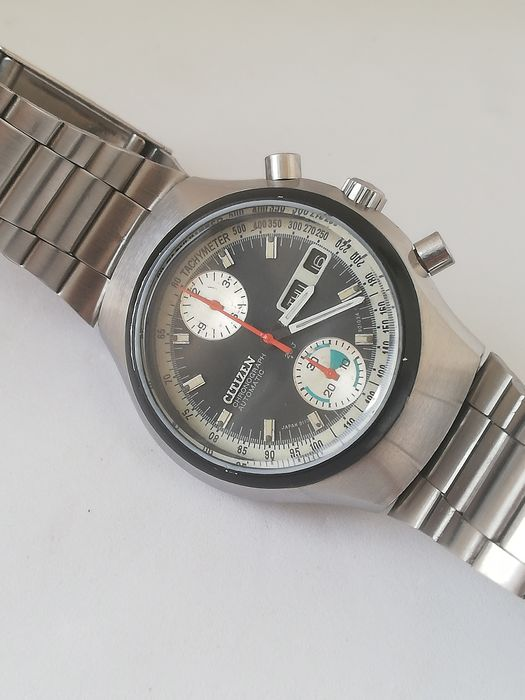 "Citizen  - Flyback Chronograph ""NO RESERVE PRICE"" - 67-9038 - Homem - 1970-1979"