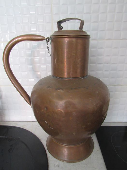Milk pot (1) - Folk Art - Copper