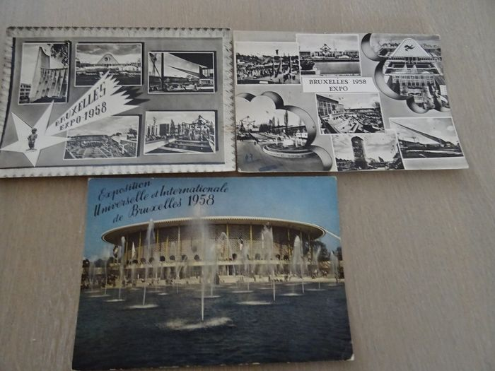 World exhibitions - Postcards (Group of 122) - 1930-1962