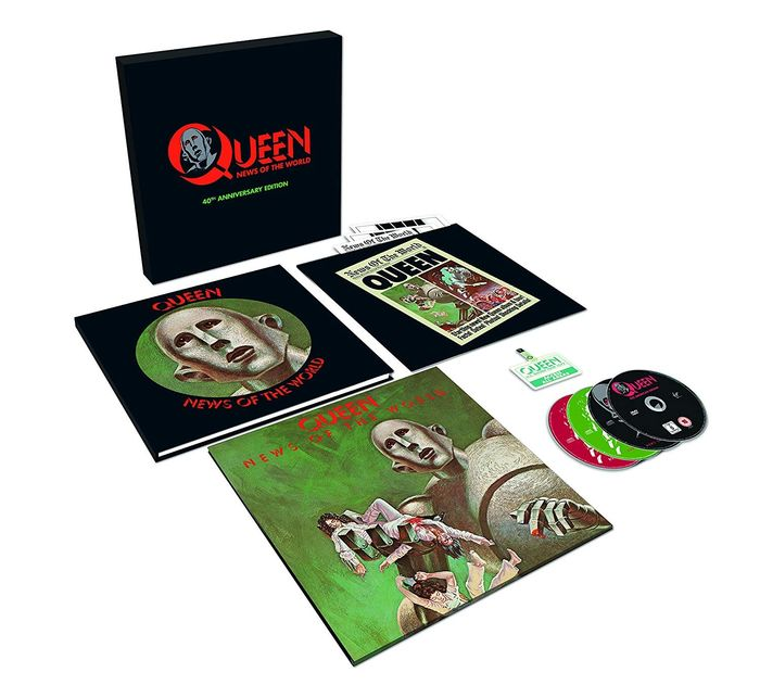 Queen - News Of The World (40th Anniversary Super Deluxe) - CD Box set, Limited edition, LP Box set - 2017