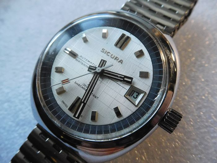 Sicura - clasic vintage watch automatic - eb 8800 - Homme - 1960-1969