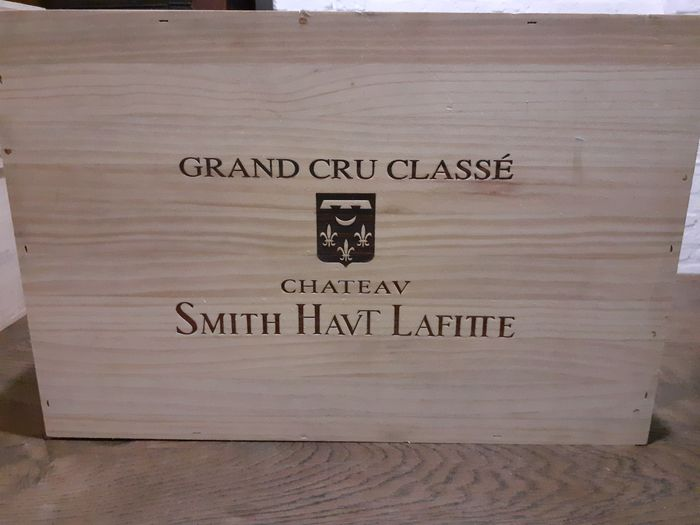 2014 Chateau Smith Haut-Lafitte - Pessac-Léognan Grand Cru Classé - 6 Bottles (0.75L)