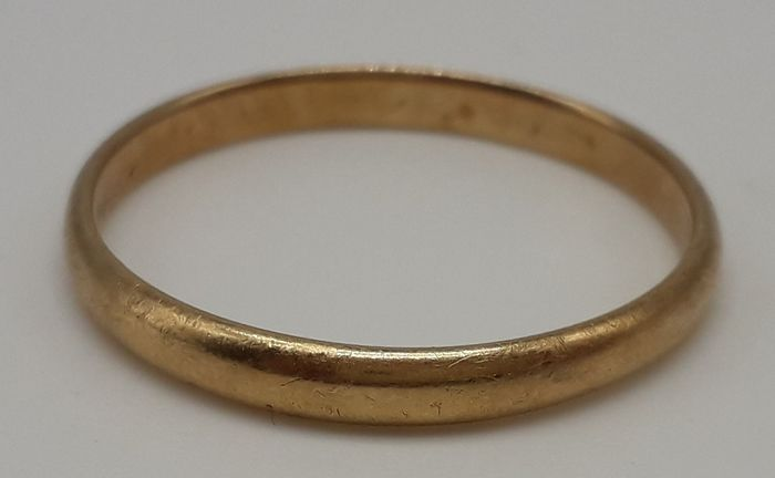 9K Yellow gold - Ring