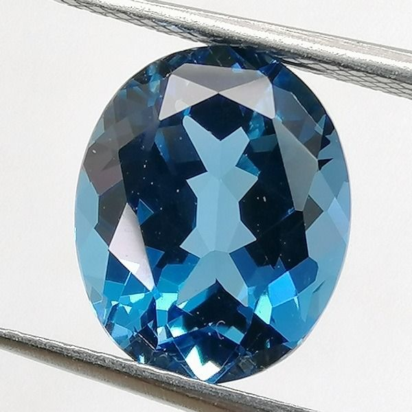 No Reserve Price -  London Blue Topaz - 4.37 ct