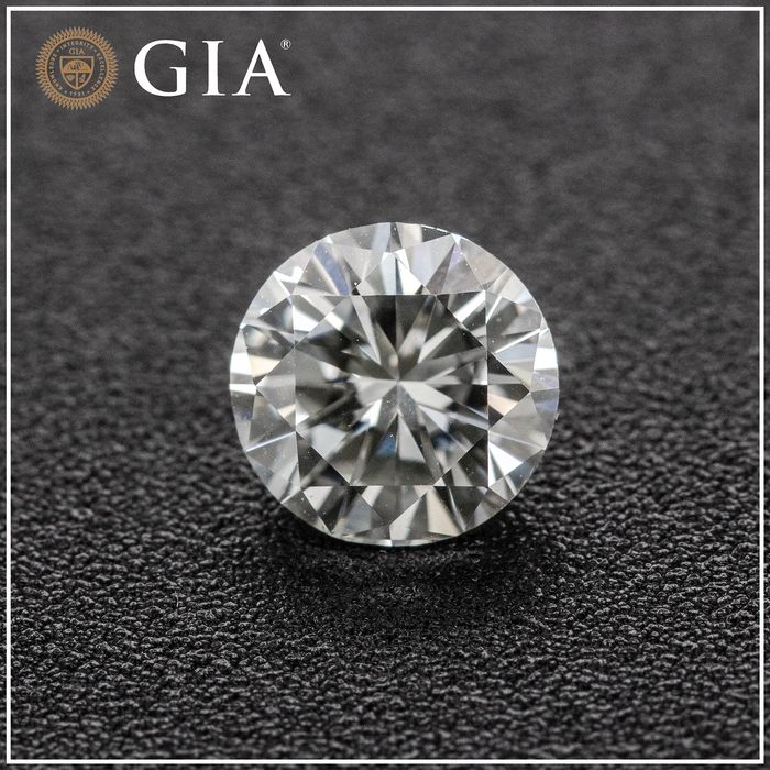 Diamond - 1.01 ct - Brilliant - G - VVS2, GIA