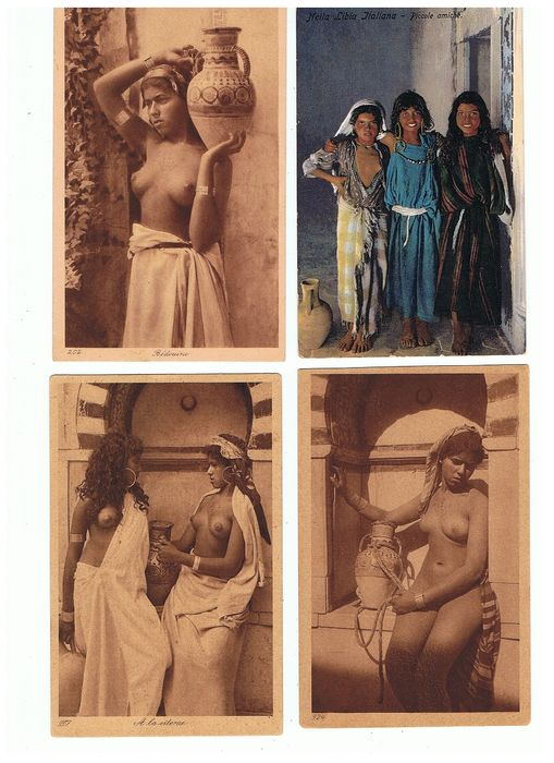 North Africa - Postcards (Collection of 27) - 1904-1956