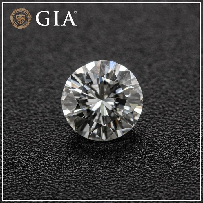 Diamante - 1.01 ct - Brilhante - F - VVS2, GIA