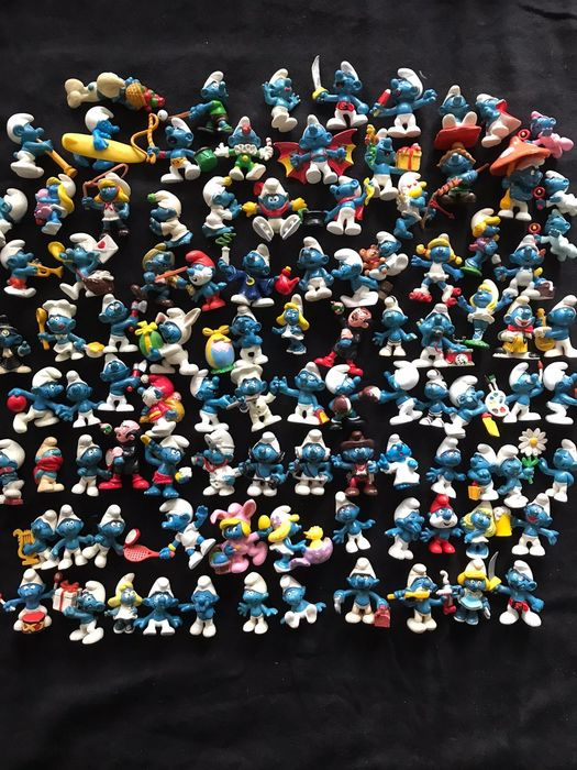 Peyo/Schleich - Smurfs collection 98 pieces