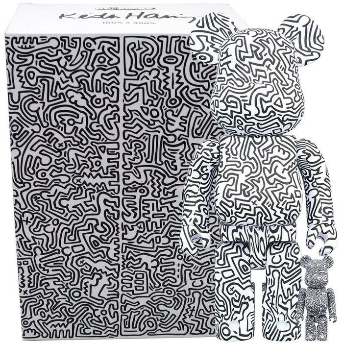 Keith Haring - Medicom 400% & 100% Articulated Figures - Sculpture - Japan