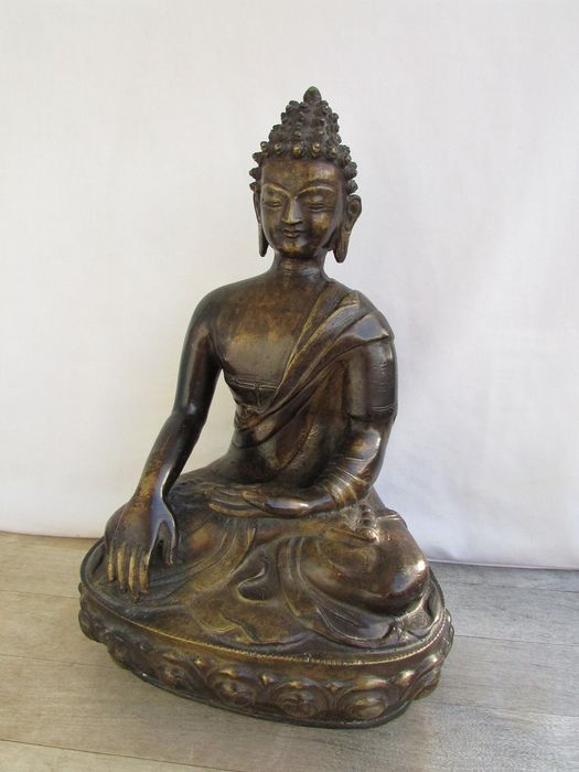 image of a buddha - Bronze - Nepal - Second half 20th century