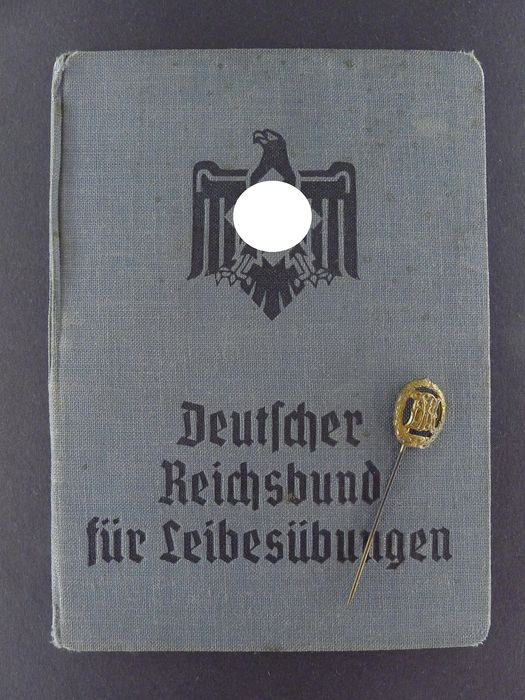 Germany - DRL award and tenant search 3rd Reich - Award, Document