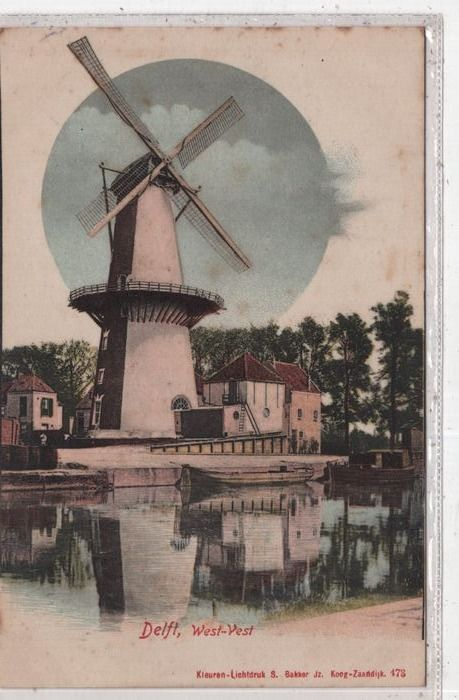 Netherlands - Windmill - Postcards (Collection of 94) - 1900