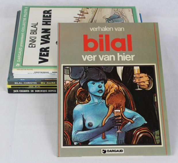 Bilal, Enki - diverse uitgaven - 5x hardcover + 4x softcover - First edition - (1980/1998)