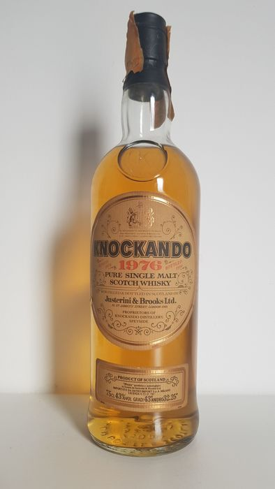 Knockando 1976 - Original bottling - b. 1990 - 75cl