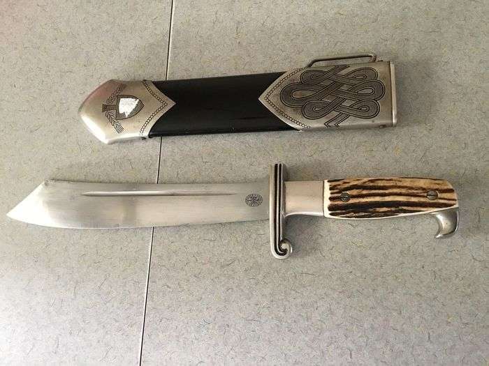 Germany - E.& F. Horster  - RAD reichs arbeits diens  - RAD reichs arbeits  dienst  - Dagger
