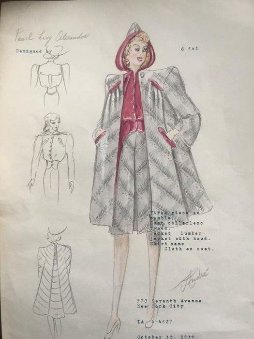 Pearl Levy Alexander - Andre Fashion design O 641