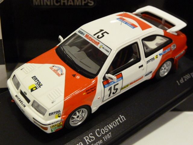 1:43 Trofeu 4b04 Ford Sierra RS Cosworth-lotus-Rally Condroz 1987 soulet