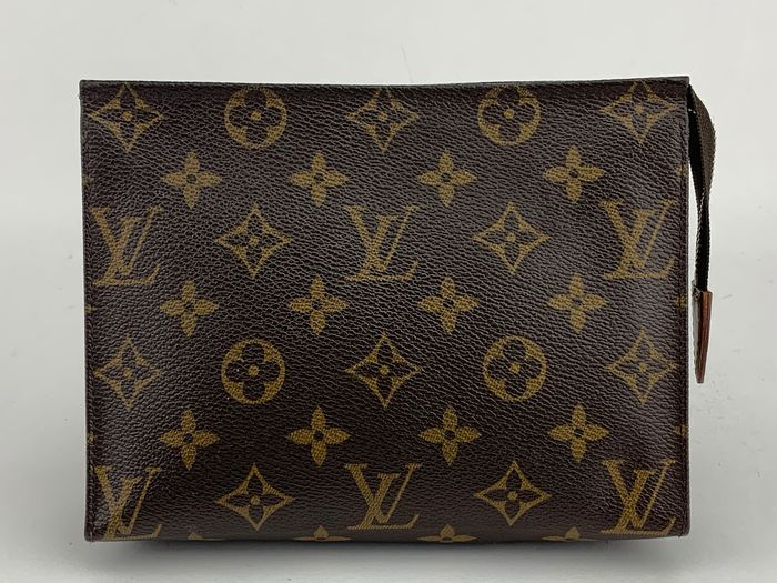 Louis Vuitton - Unisex NO RP- Monogram Poche Toilette  Cosmetic bag