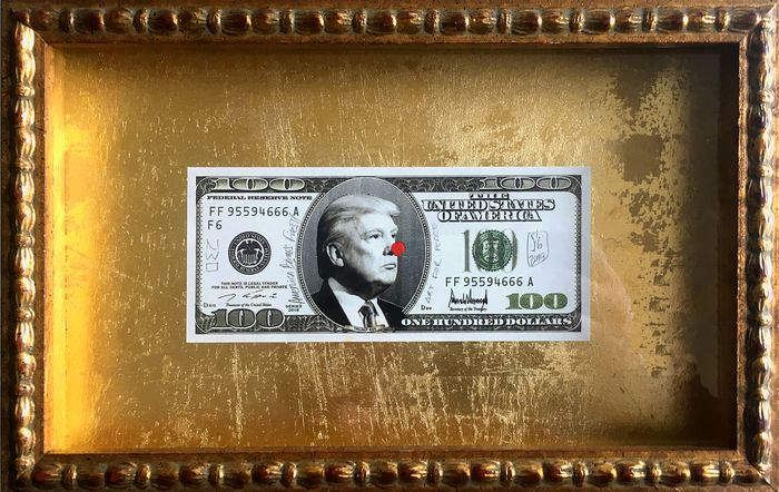 SiG Martín Sigwald The MagicArtist® - Trump Dollar Bill 24k BoX