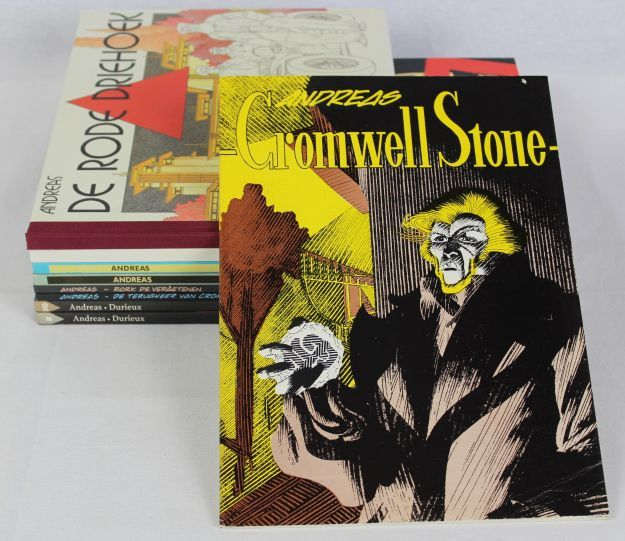 Andreas - Cromwell Stone + Rork + Mobilis e.a. - 6x hardcover + 3x softcover - First edition - (1982/2002)