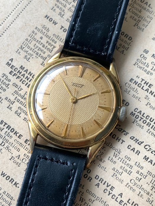 Tissot - 27-21T movement - Homme - 1950-1959