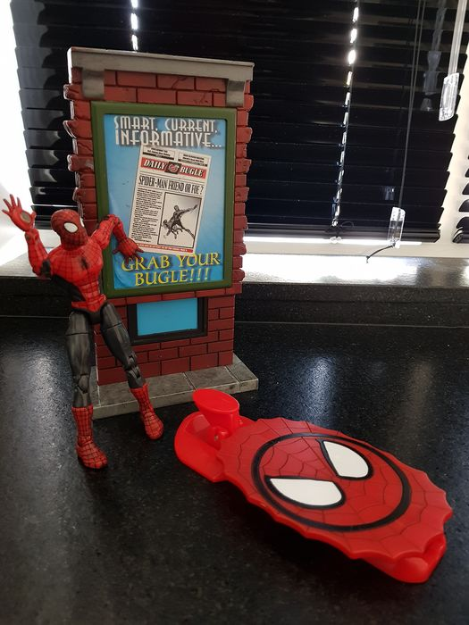 Marvel - Spider-man - Action figure, Diorama Lot with 4 items - see photos and description