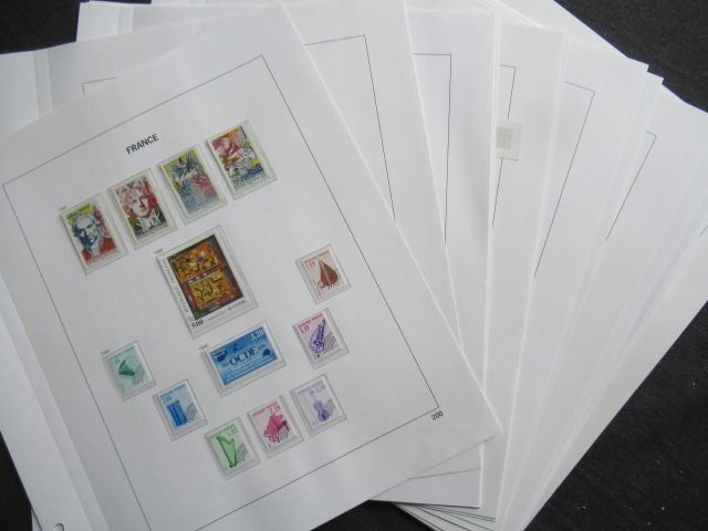 France 1990/1993 - Collection of stamps