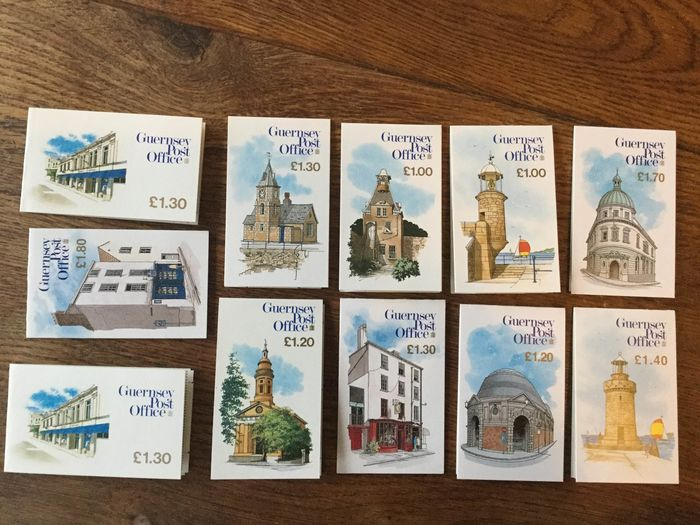 Europe - 90 different booklets