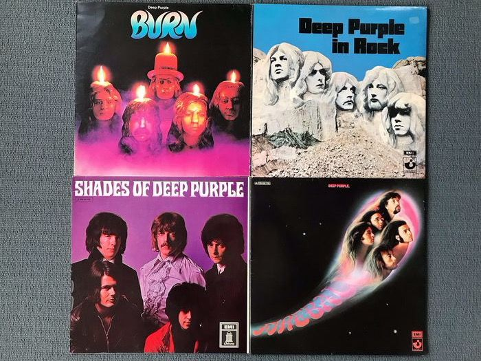 Deep Purple - Multiple titles - LP's - 1968/1979