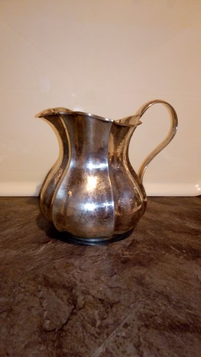 Pitcher - .800 silver - Italy - First half 20th century