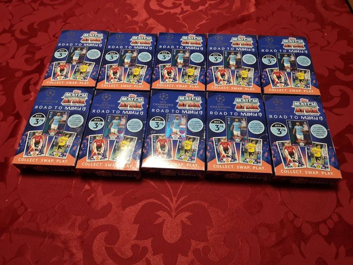 Variant Panini - Topps - 10 dozen Champions League road to Madrid 18/19 - 2019