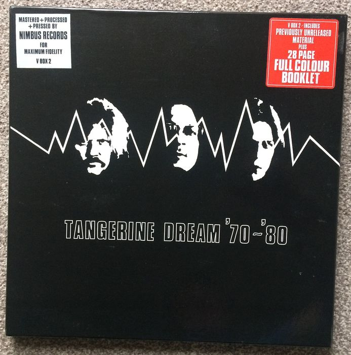 Tangerine Dream - Tangerine Dream '70 - '80 - Box set - 1980/1980
