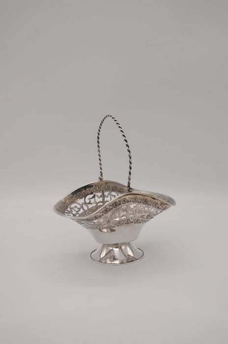 Candy serving Basket/Bowl - .835 silver