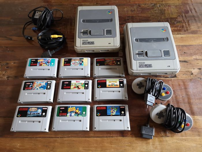 2 Nintendo Snes - Console with games (9)