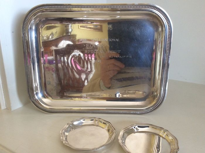 Christofle Paris - Tray (3) - Silverplate