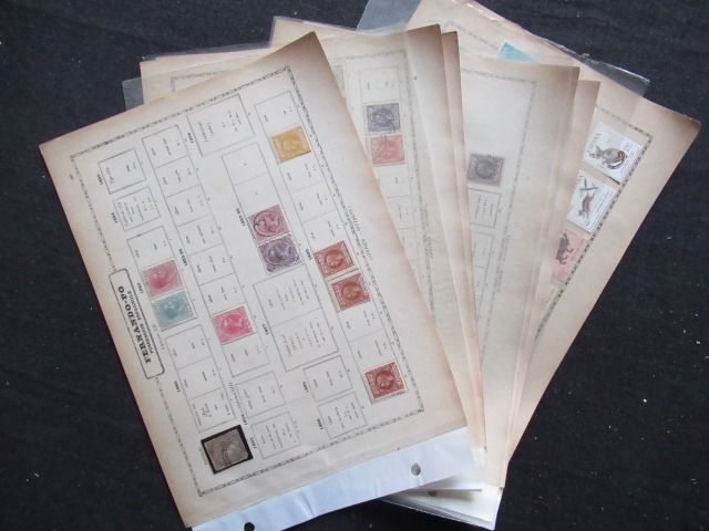 Fernando Poo - Spanish possession, collection of stamps
