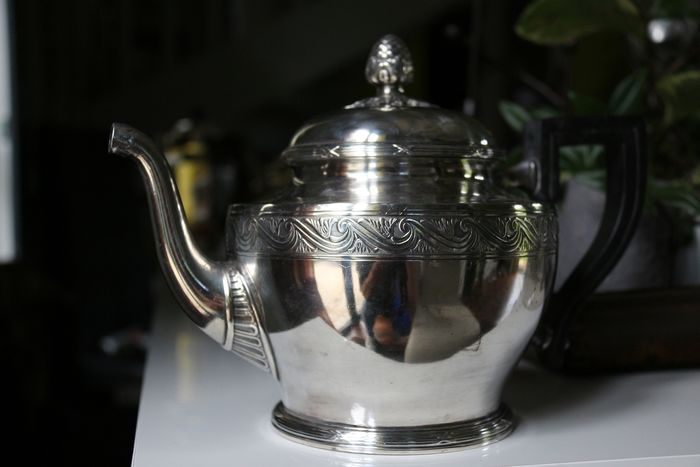 Christofle - Teapot (1) - Silver plated